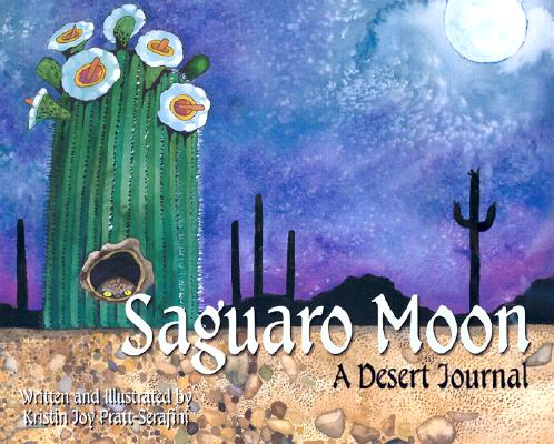 saguaro moon nature in the desert