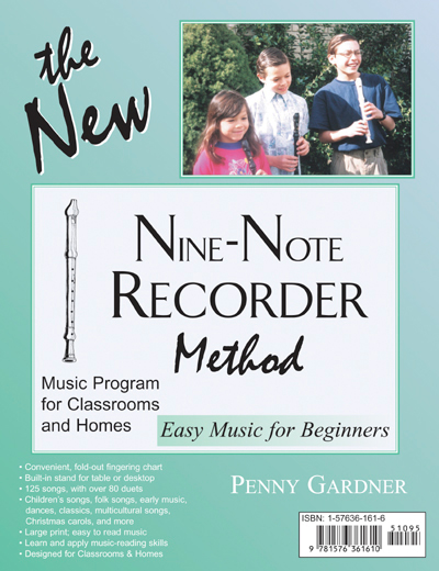 Nine-Note Recorder Method beginner book