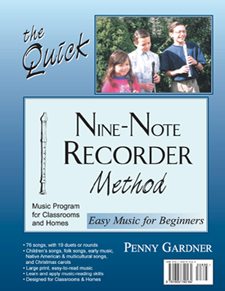 recorder method for children and adults